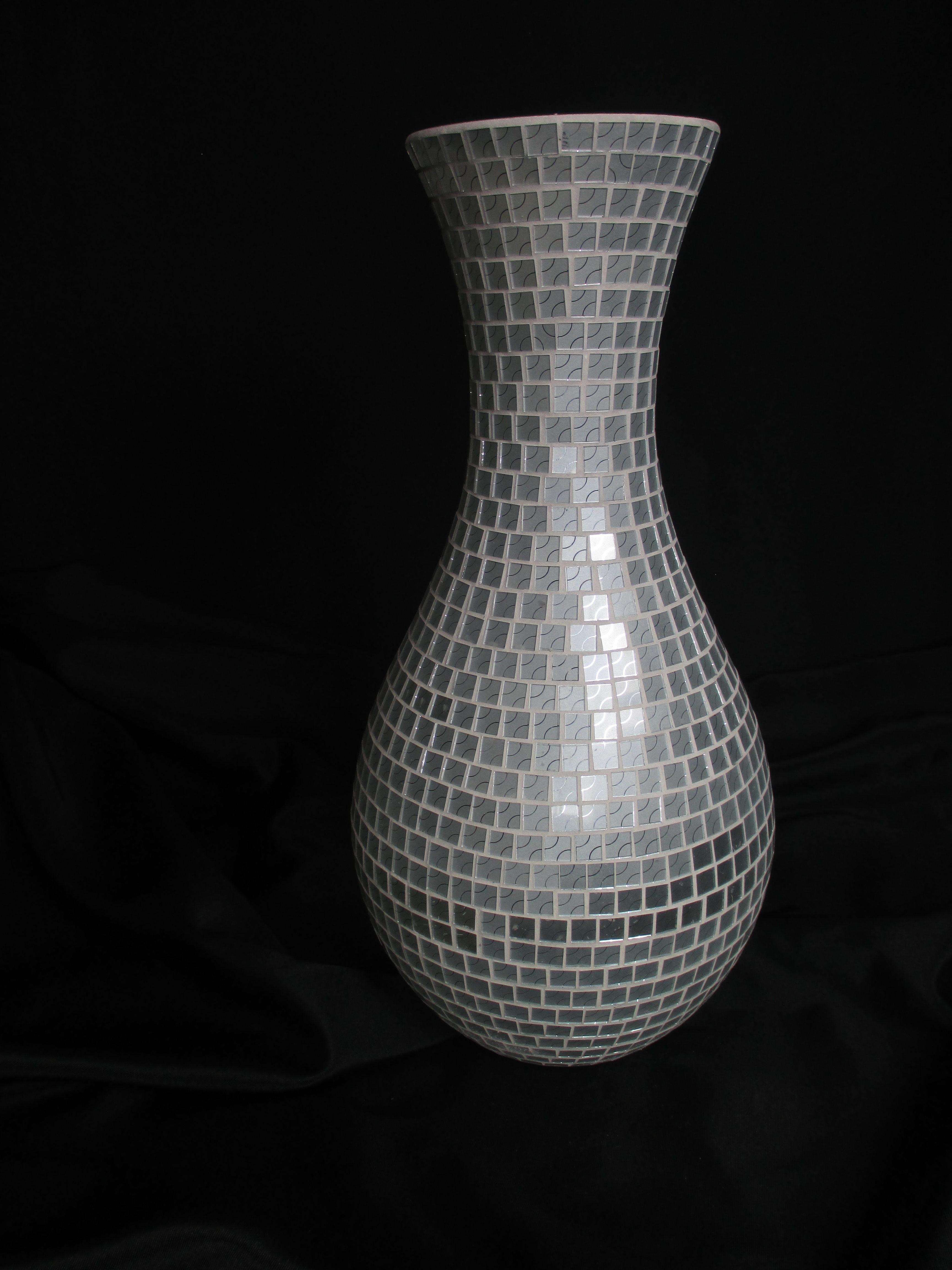 White handmade vase aa 4 8 modern home imports white handmade vase aa 4 8 reviewsmspy